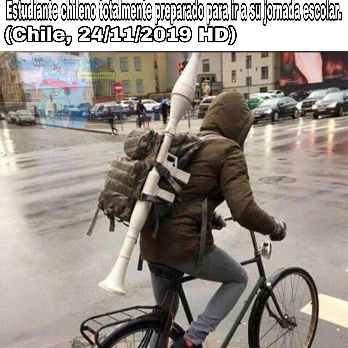 vamos pa' Chile-Zuela - meme