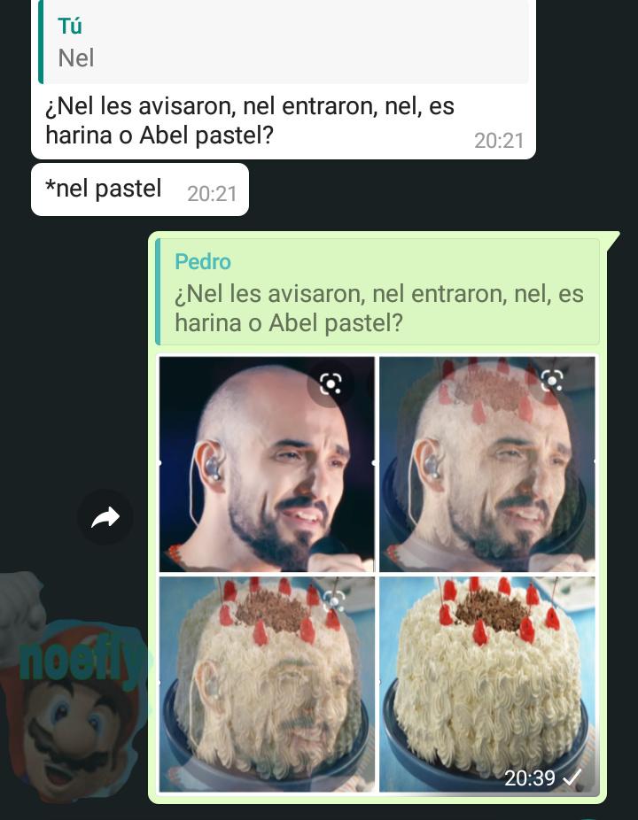 Abel pastel - meme