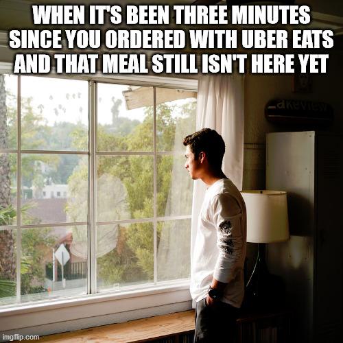 Hurry up - meme