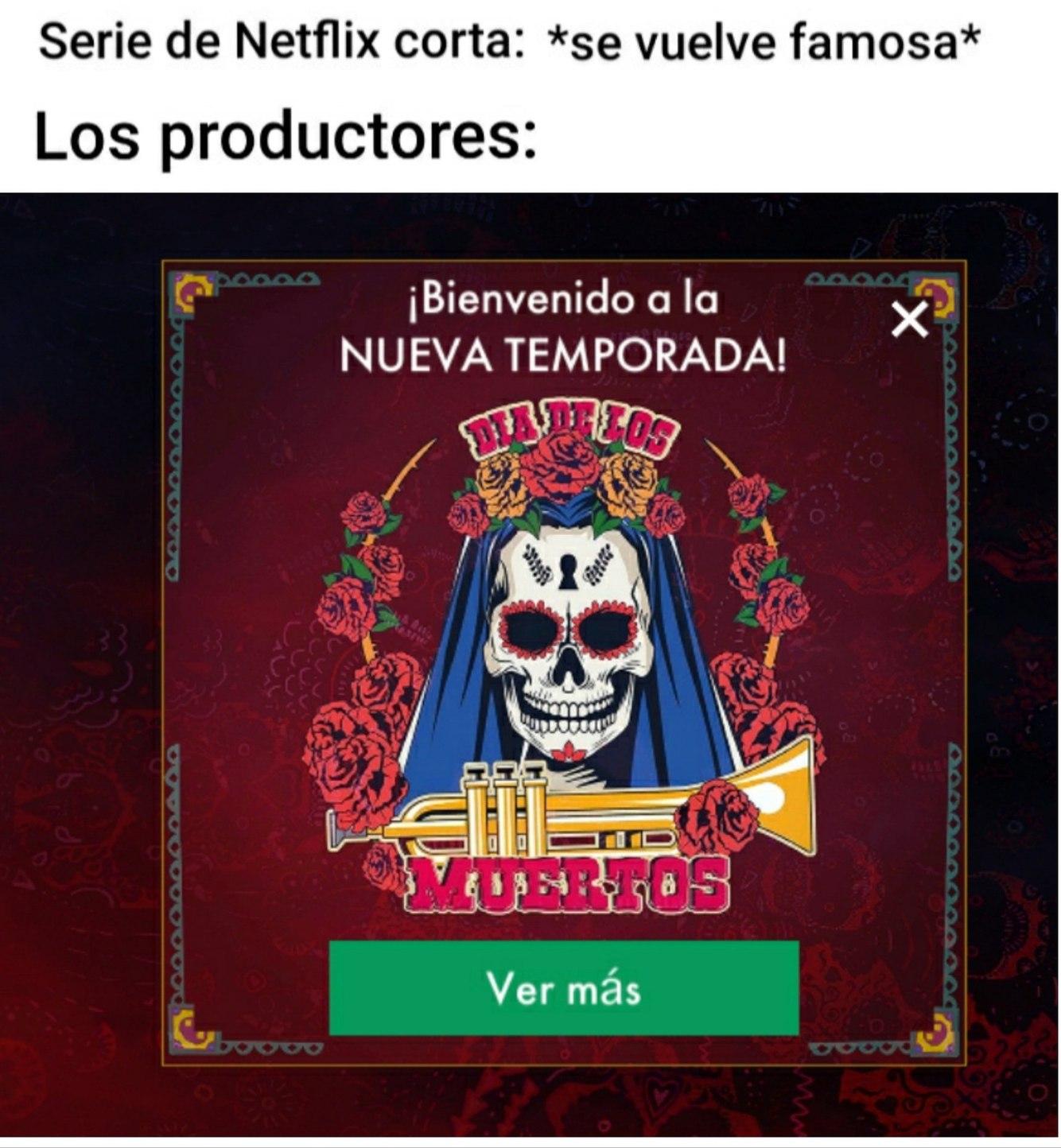 La imagen es de la nueva temporada de un juego - meme