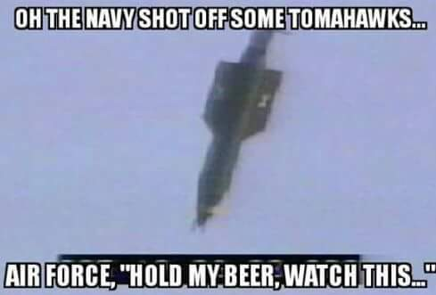The world's largest non-nuclear nuclear weapon was dropped on Afghanistan yesterday - meme