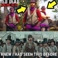 Red dead online = Gangs of New York