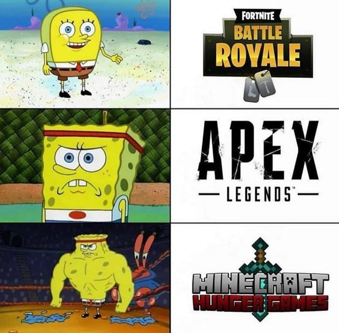 Melhor battle royale - meme