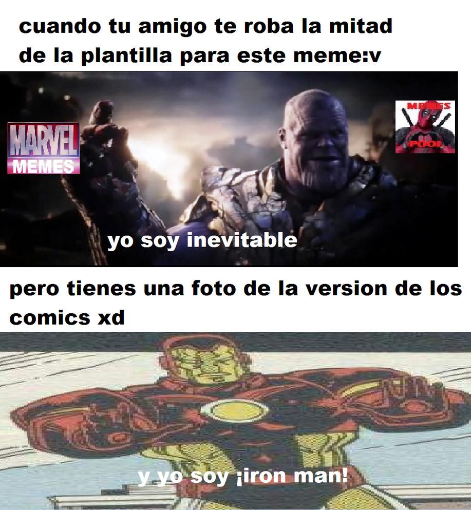 yo soy iron man - meme