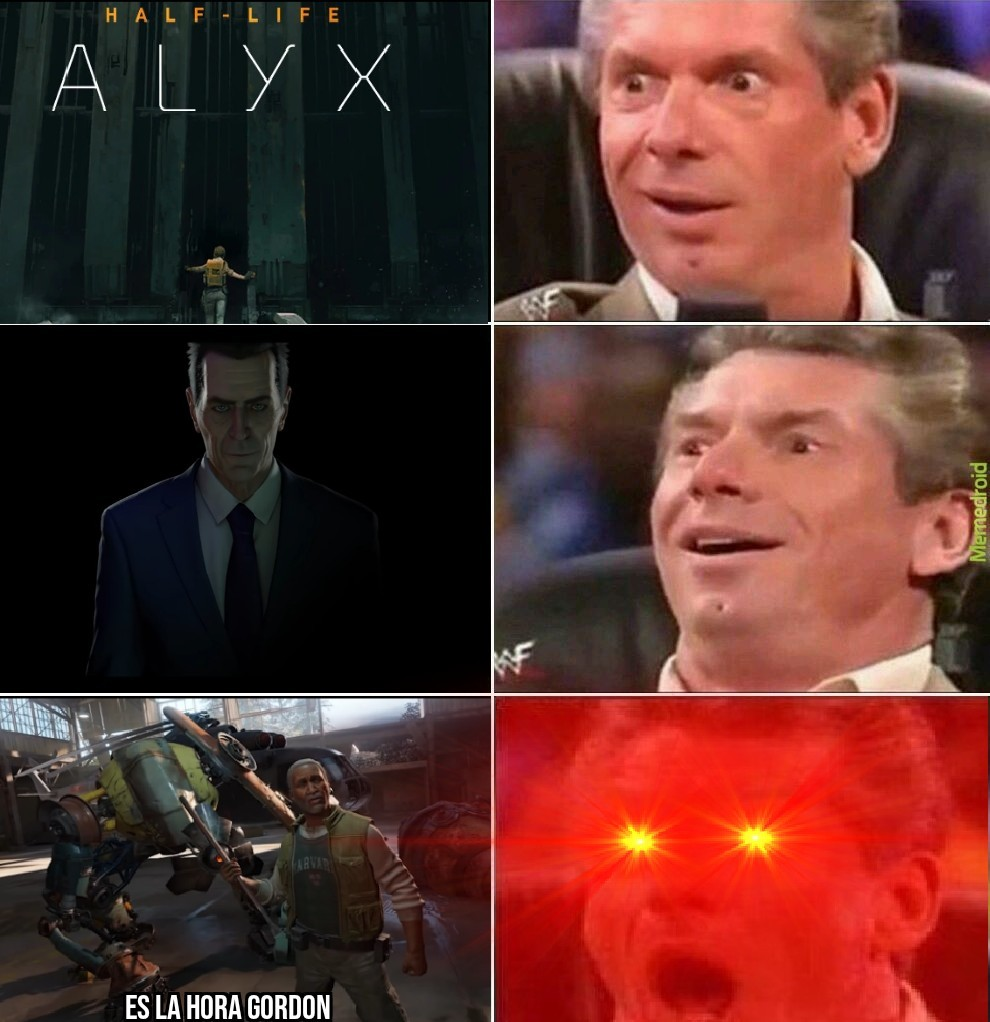 es el post creditos de hl alyx - meme