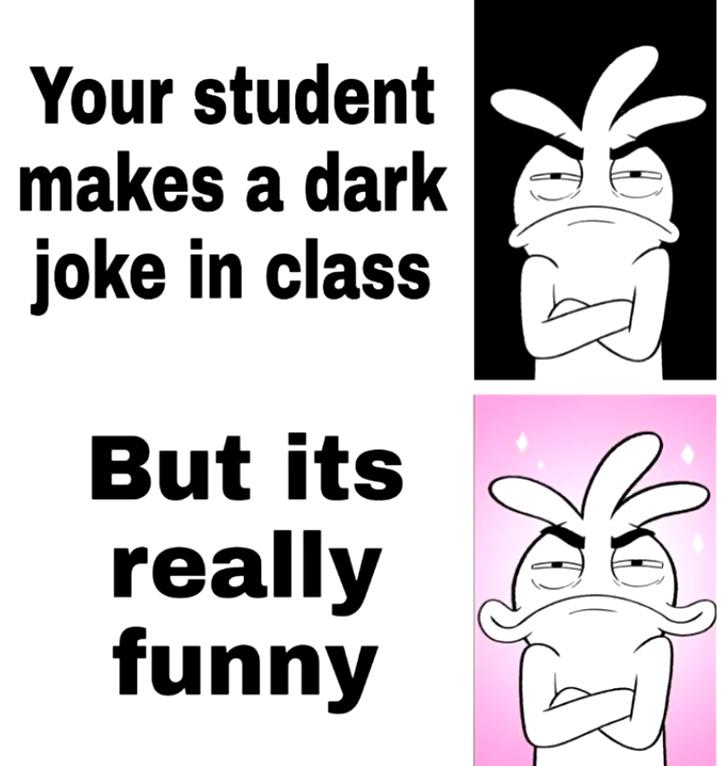 dark joke - meme