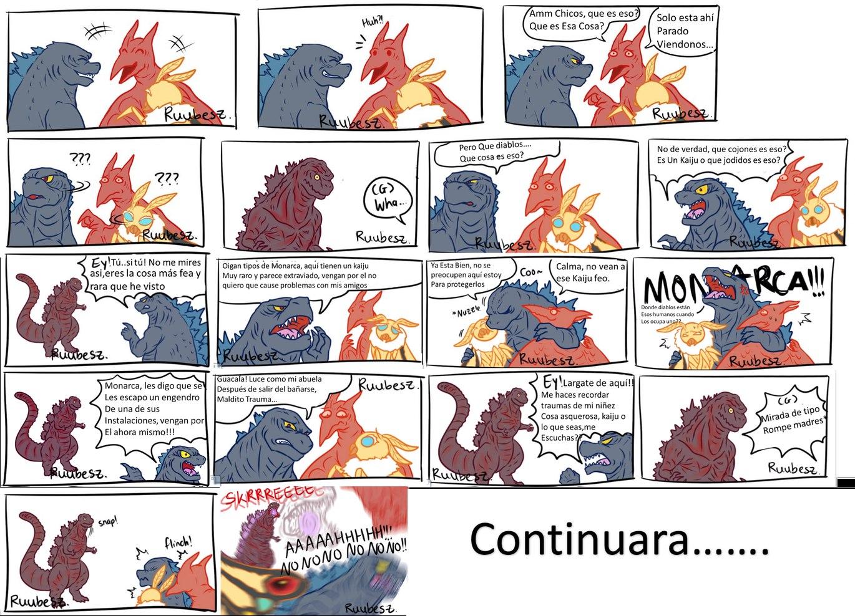 Comic De Godzilla. Shin Godzilla Parte 1 - meme