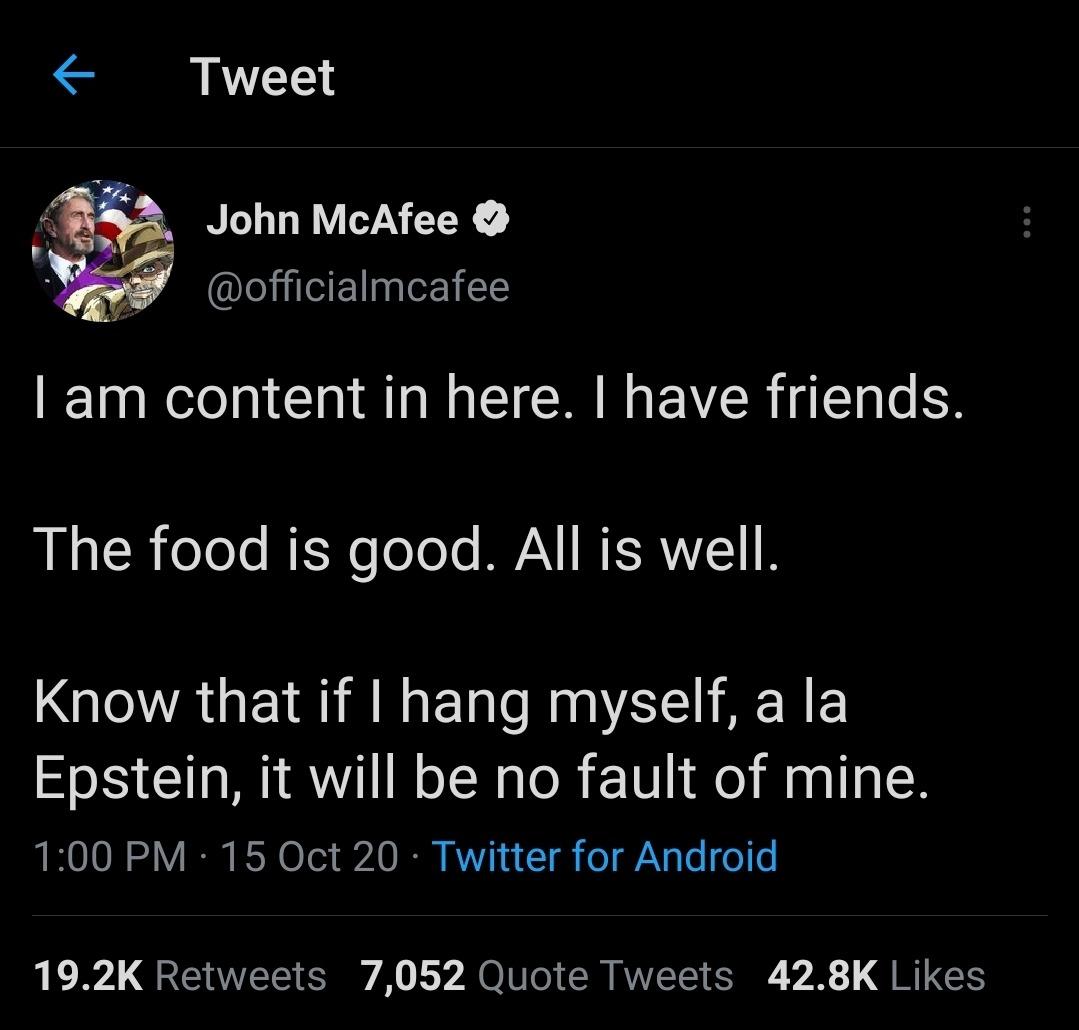Epstein'd - meme