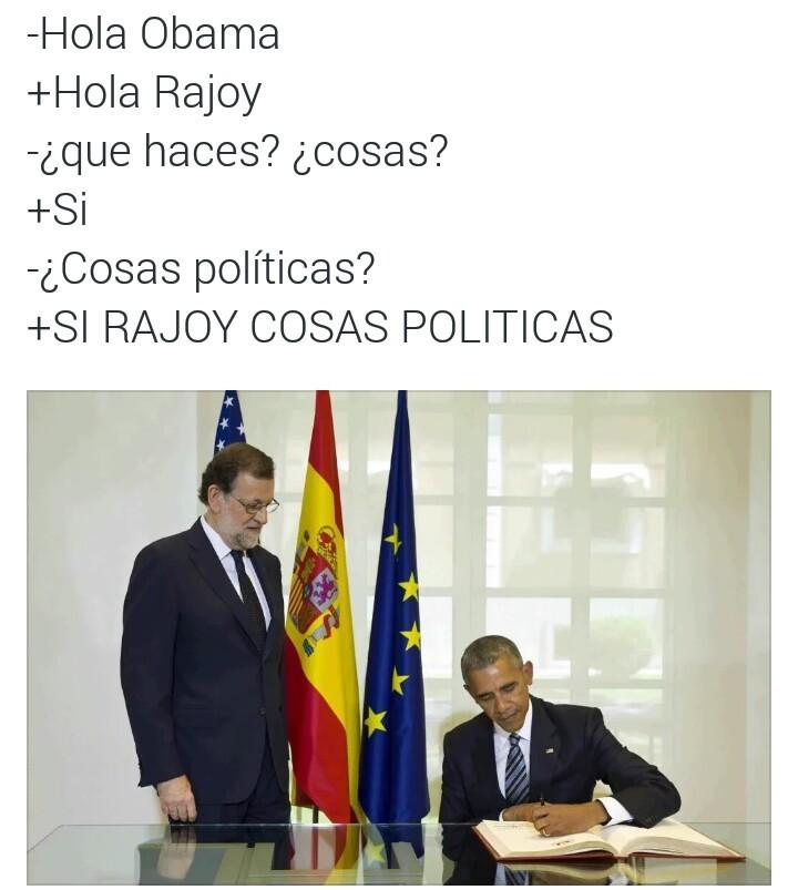 Ese rajoy es un lokillo - meme