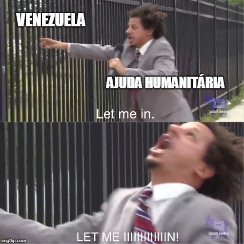 O titulo está em um caminhão na fronteira - meme