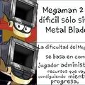 No me acuerdo en que video mencionó la Dificultad de los MegaMan
