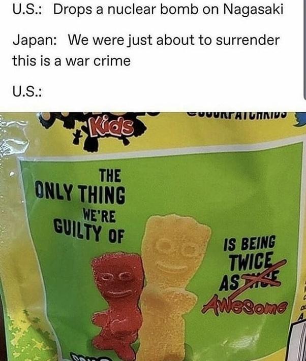 Only twice? - meme