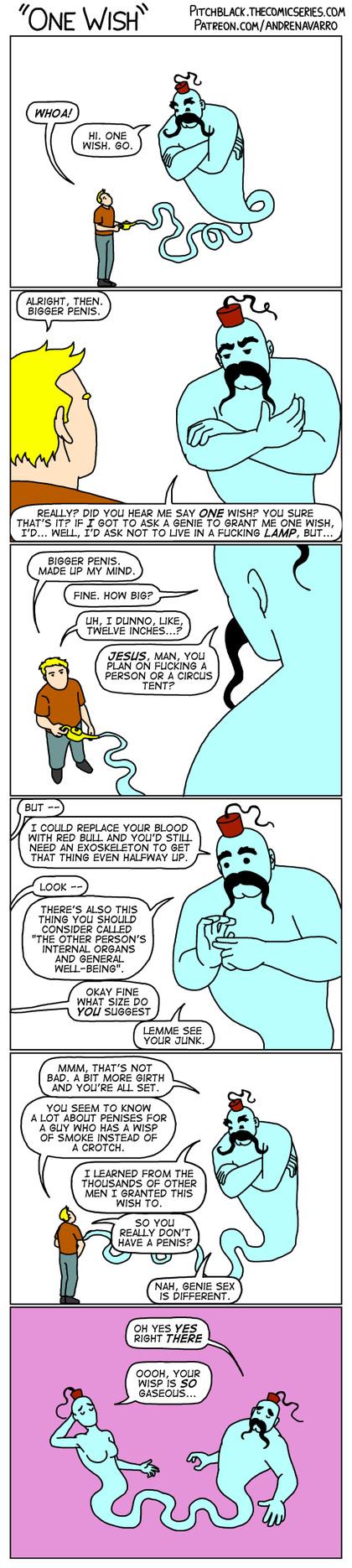 genie sex must be amazing - meme