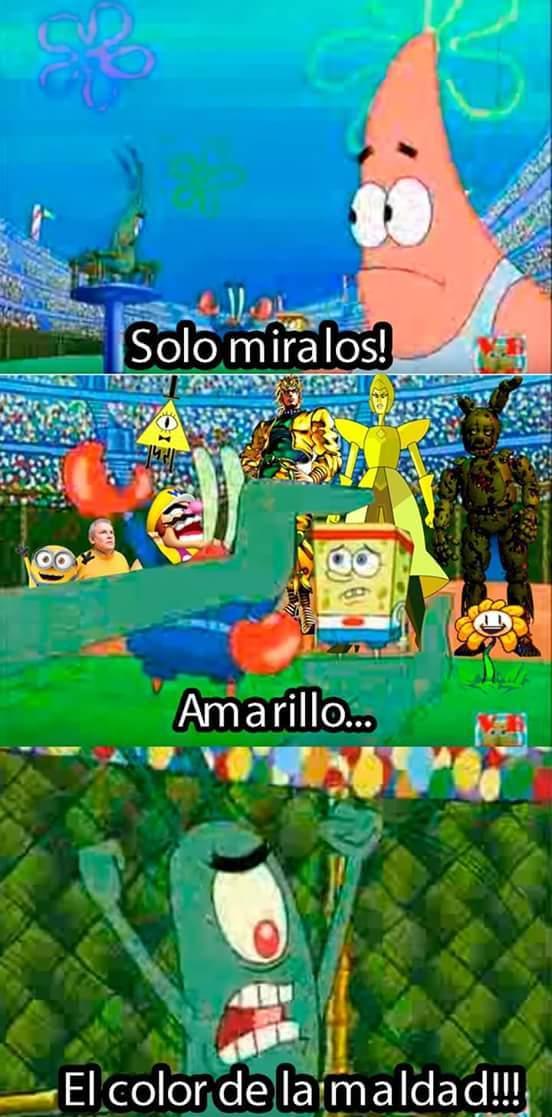 Amarillo - meme