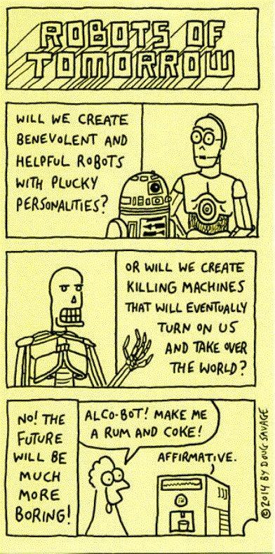 Real Robotics are fun - meme