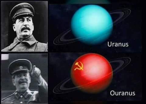 Ouranus comrades! - meme