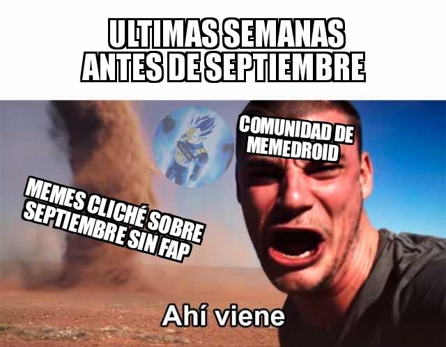 Meme cliché.