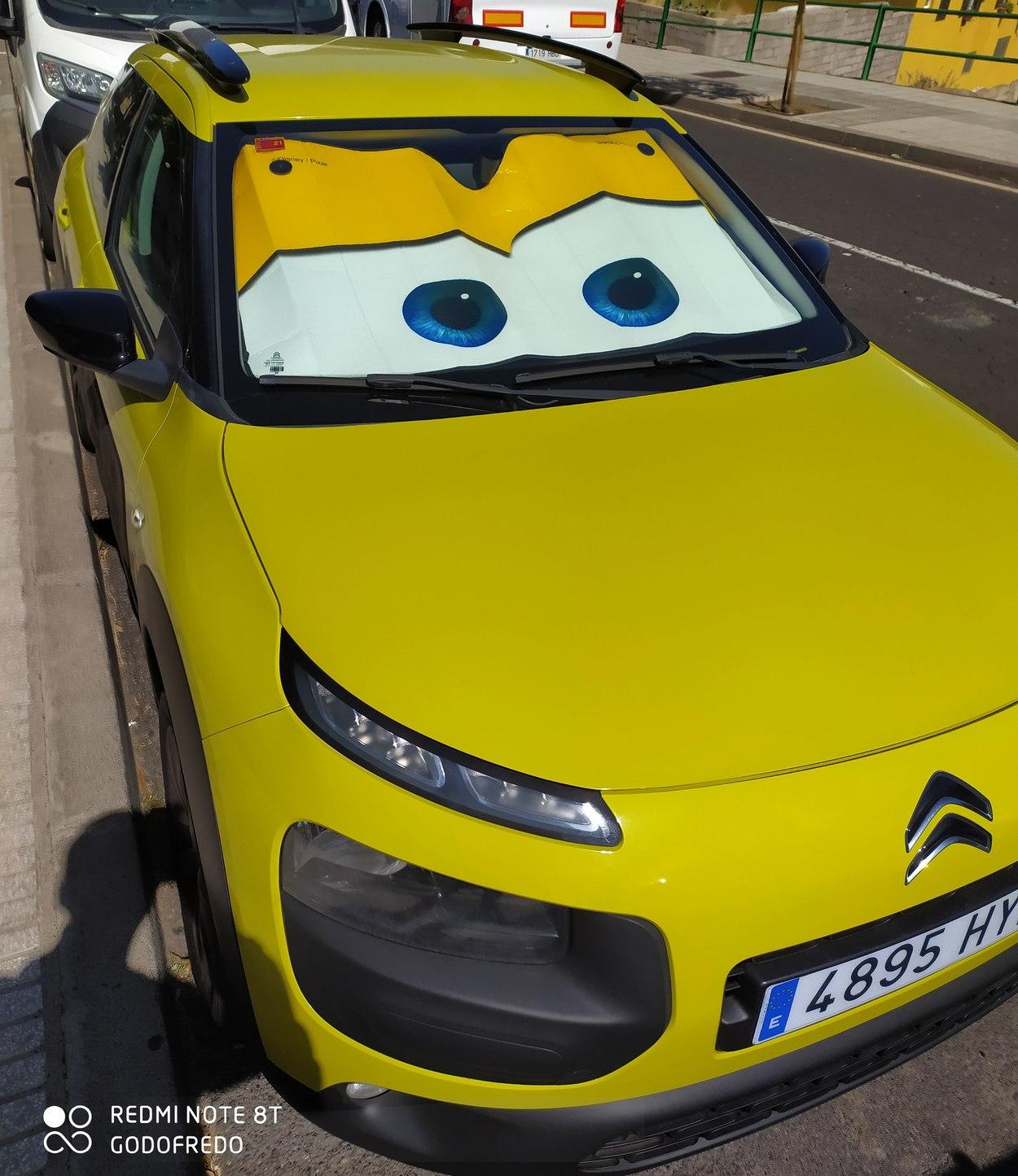 Cars en la vida real - meme