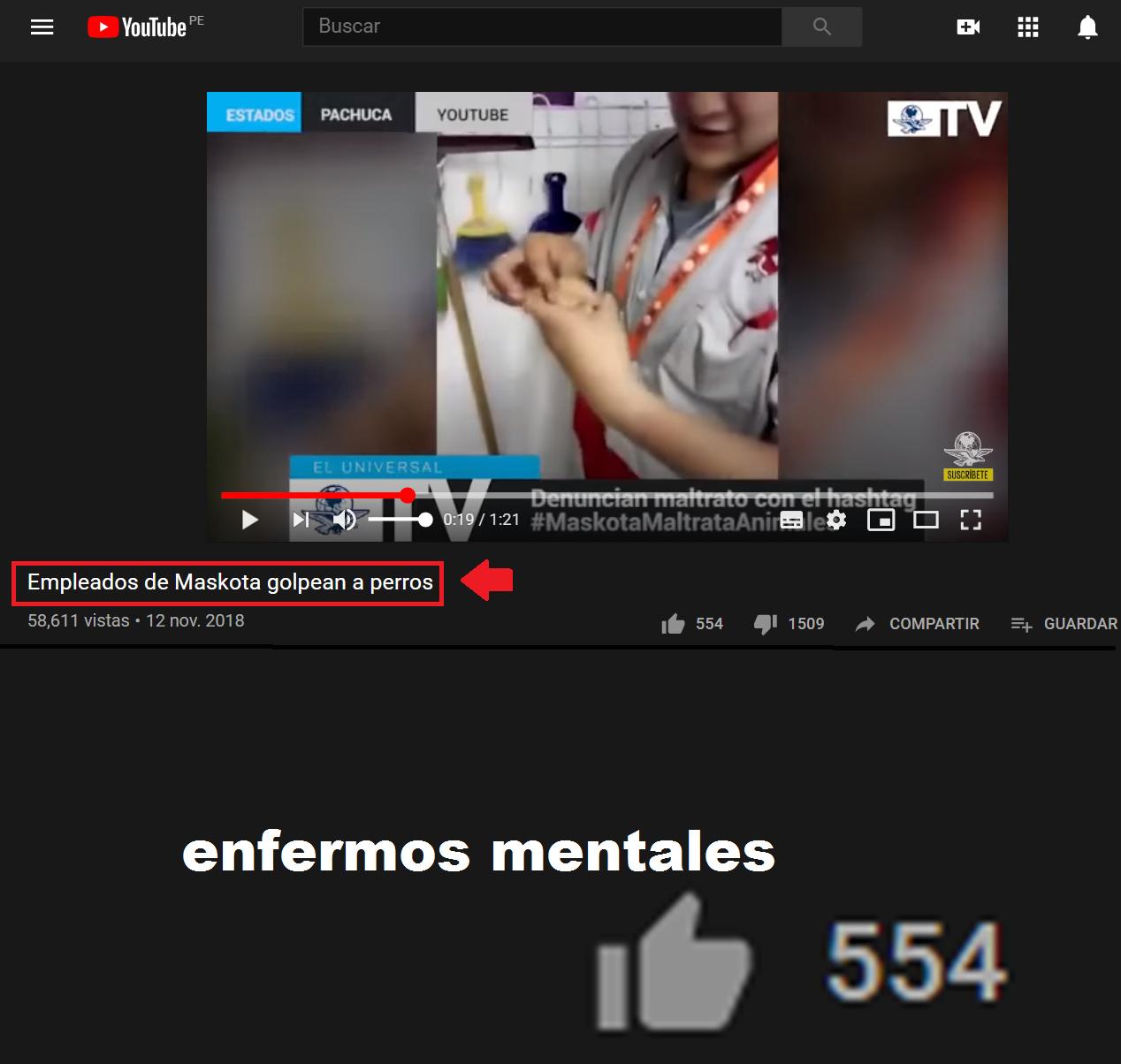 554 personas enfermas - meme