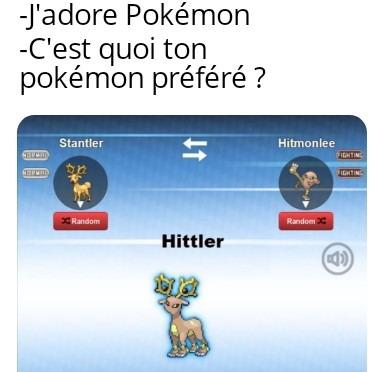 Hittler utilise Gaz Toxik ! - meme
