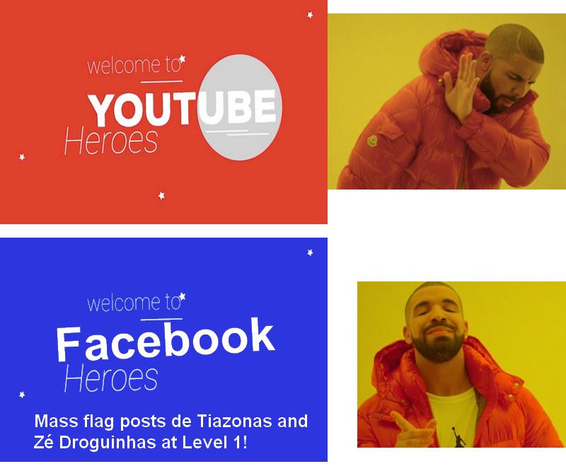 Ai ia acabar os posts merdas do fakebook - meme