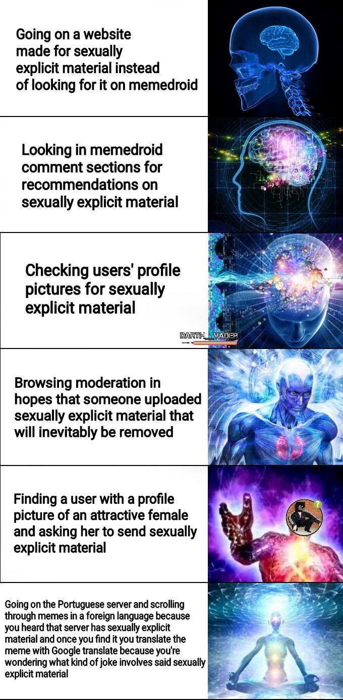 """No sexually explicit material"" - meme"