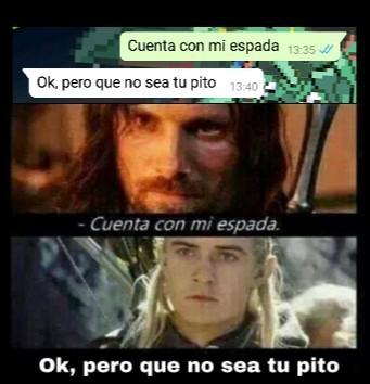 Legolas rules. - meme
