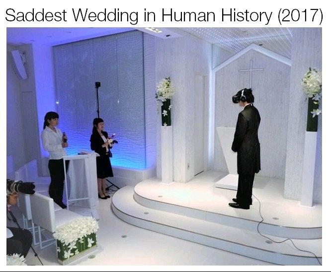 Waifu wedding - meme
