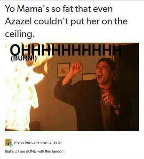 Any Supernatural fans here? Cas is hot asf. - meme