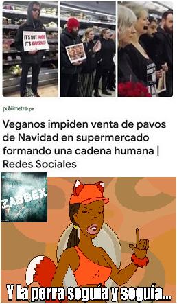 Veganos... - meme