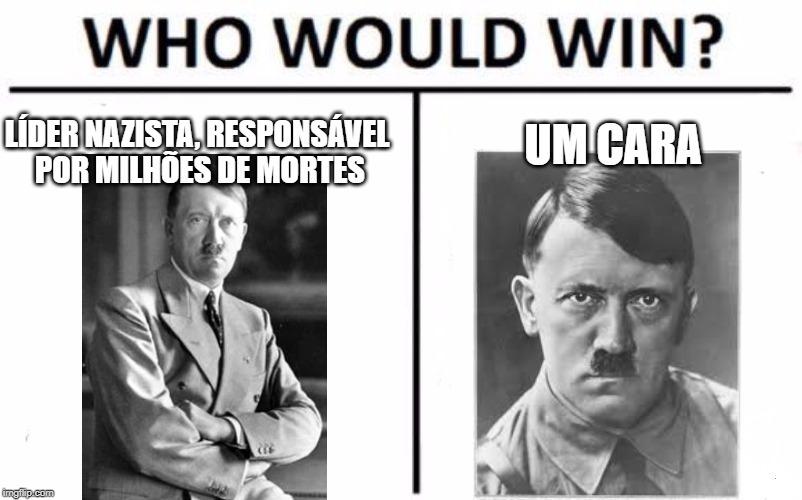 Os dois são cornos - meme