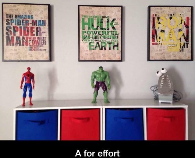 Wow! That Iron Man's on point. - meme