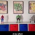 Wow! That Iron Man's on point.