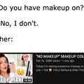 makeup .....smh