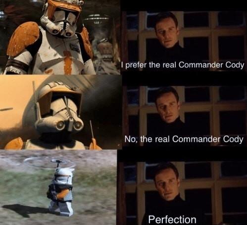 Commander cody - meme