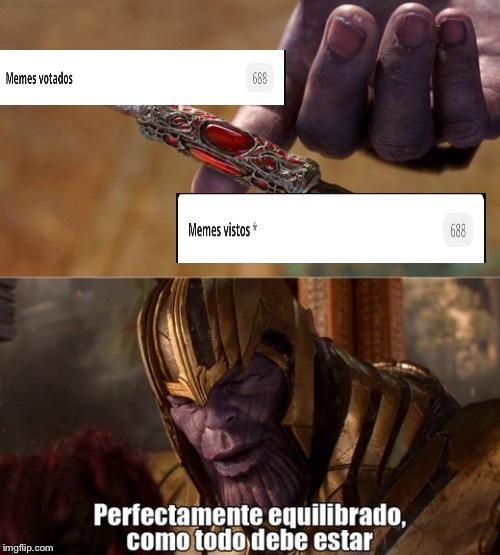 Perfectamente equilibrado/ como debe ser - meme