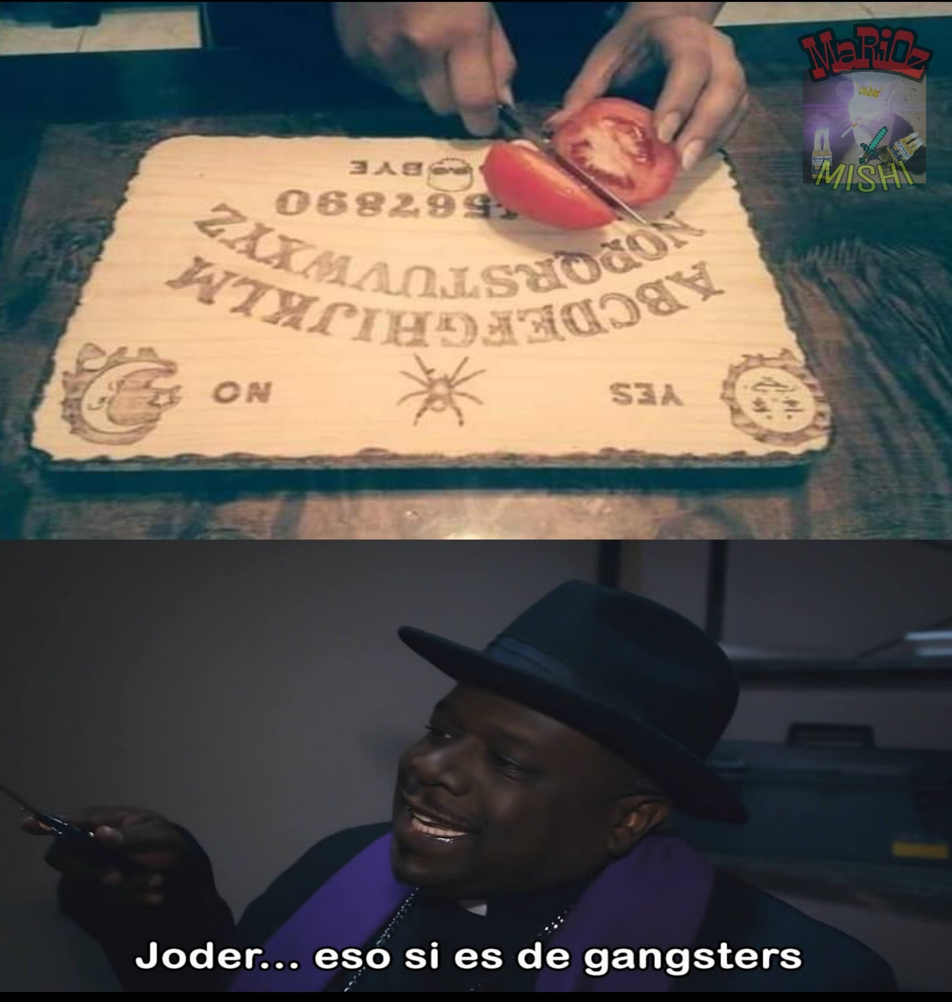 Madre mía willy - meme