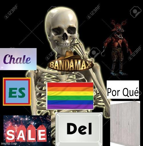 Chale banda nightmare foxy es gay porque sal del closet - meme