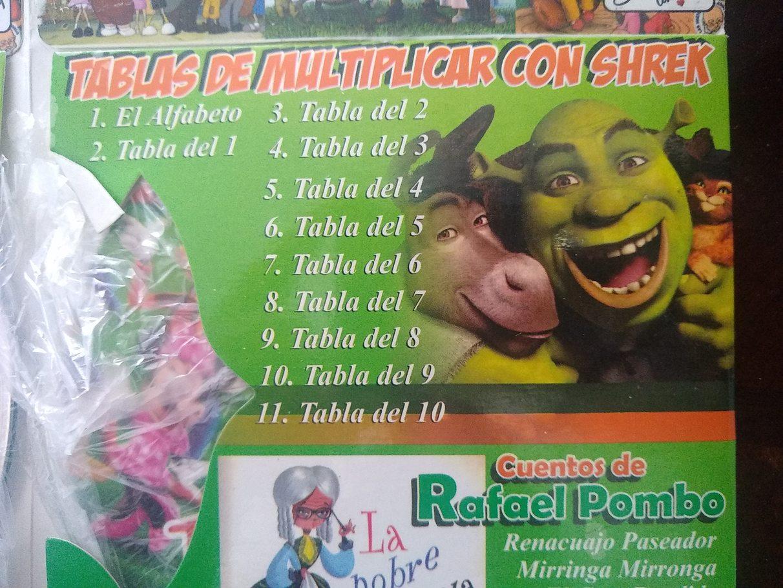 Aquí están las clases de Shrek. - meme
