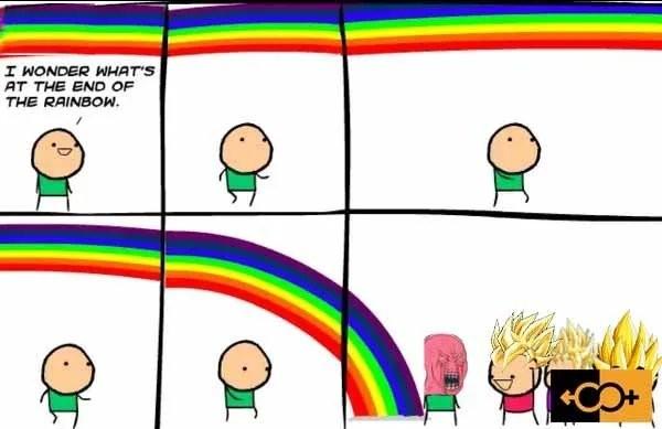 Super Straight Rainbow - meme
