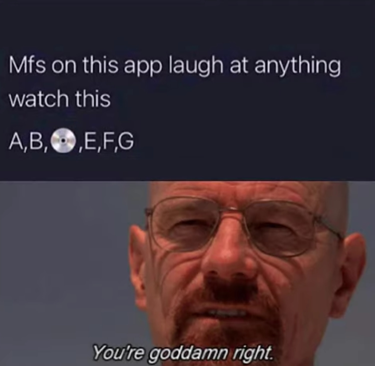 I did laugh - meme