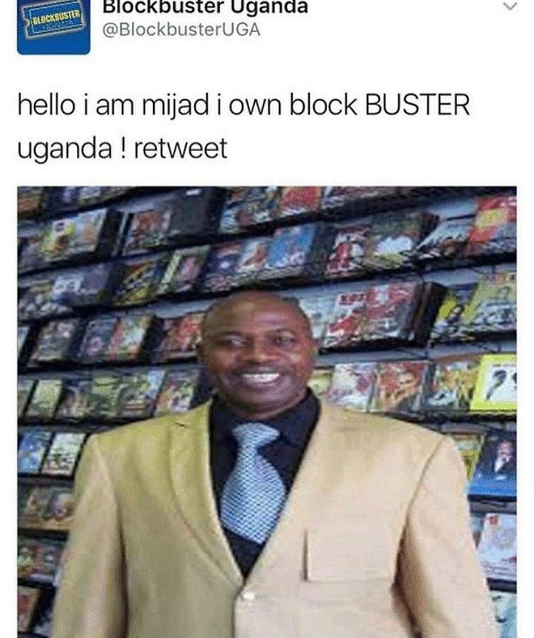 BUSTER - meme