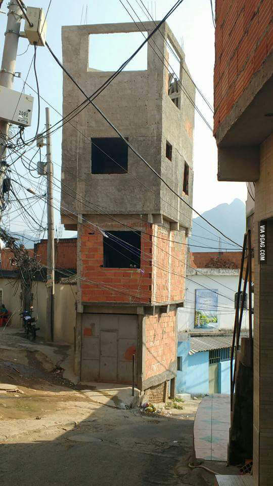 This is how you build houses in my country - meme