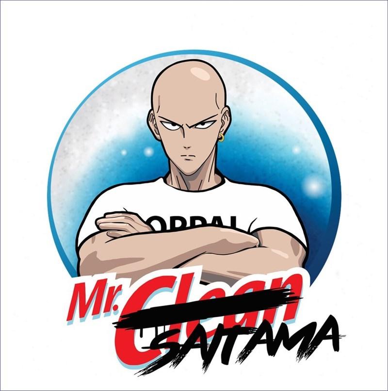 Quand Saitama passe, les taches trépassent - meme