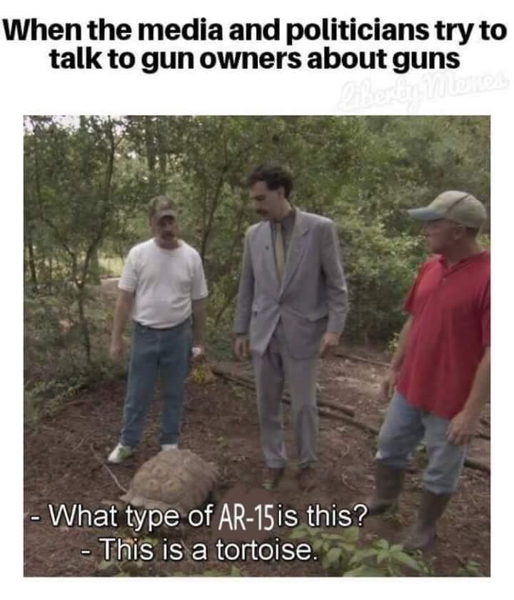Shoots 15 bullets per trigger pull - meme