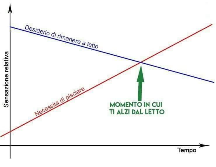 Il grafico non mente - meme