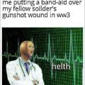 Heal the fallen boys