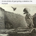 And god said unto the skeleton: Thou shalt doot Thealmightyducklord: 1:3