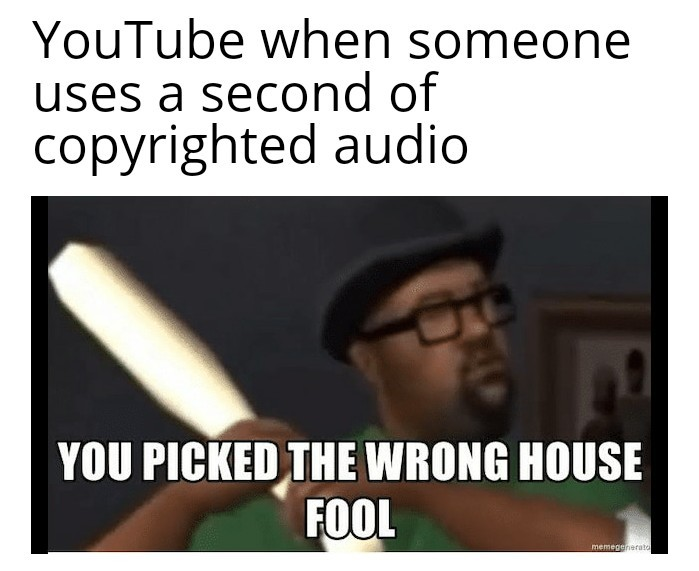 What the hell is wrong with YouTube?! - meme
