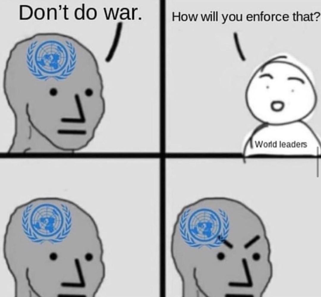 UN be like - meme